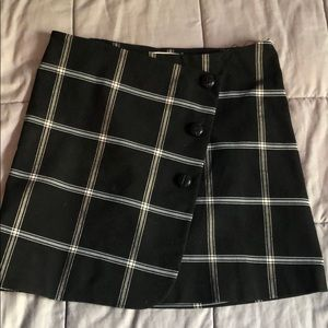 Pep squad wrap skirt